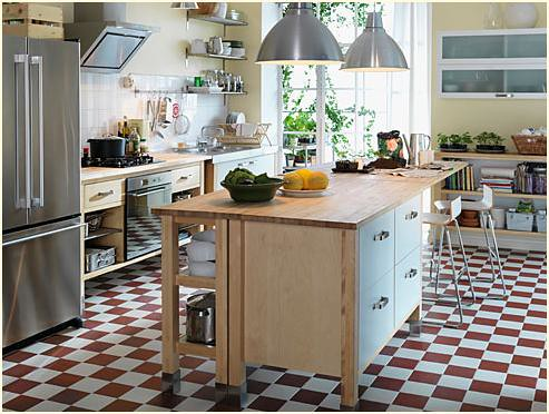 Ikea varde kitchen we 39 re using the wall cabinet and for Free standing kitchen ideas