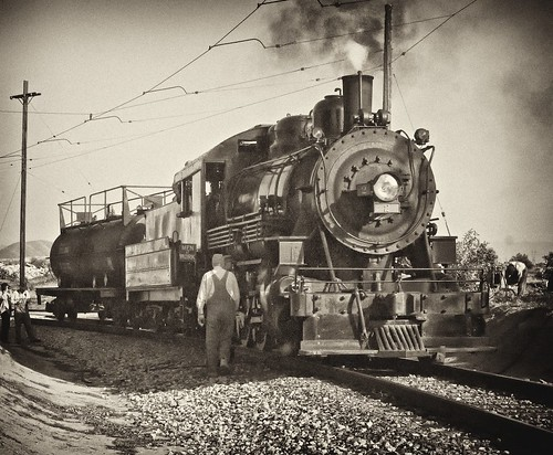 VC2 Steam B&W | by bob3052