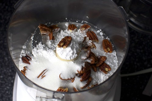pecans, powdered + granulated sugar | by smitten kitchen