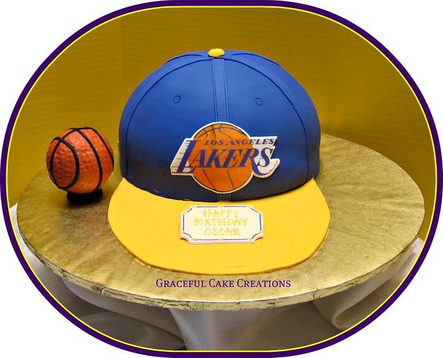 La Lakers Basketball Birthday Cake Flickr Photo Sharing