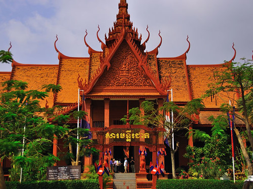 National Musuem - Phnom Penh, Cambodia | by whl.travel