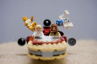 C3PO, R2D2 - Hold on tight  ! ! ! | by Sad Old Biker