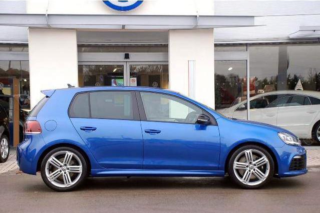 Rising Blue VW Golf R | New 2010 270hp VW Golf R. *Not my ...