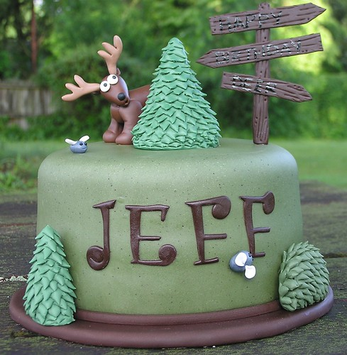 Hunting Cake | by Christina's Dessertery