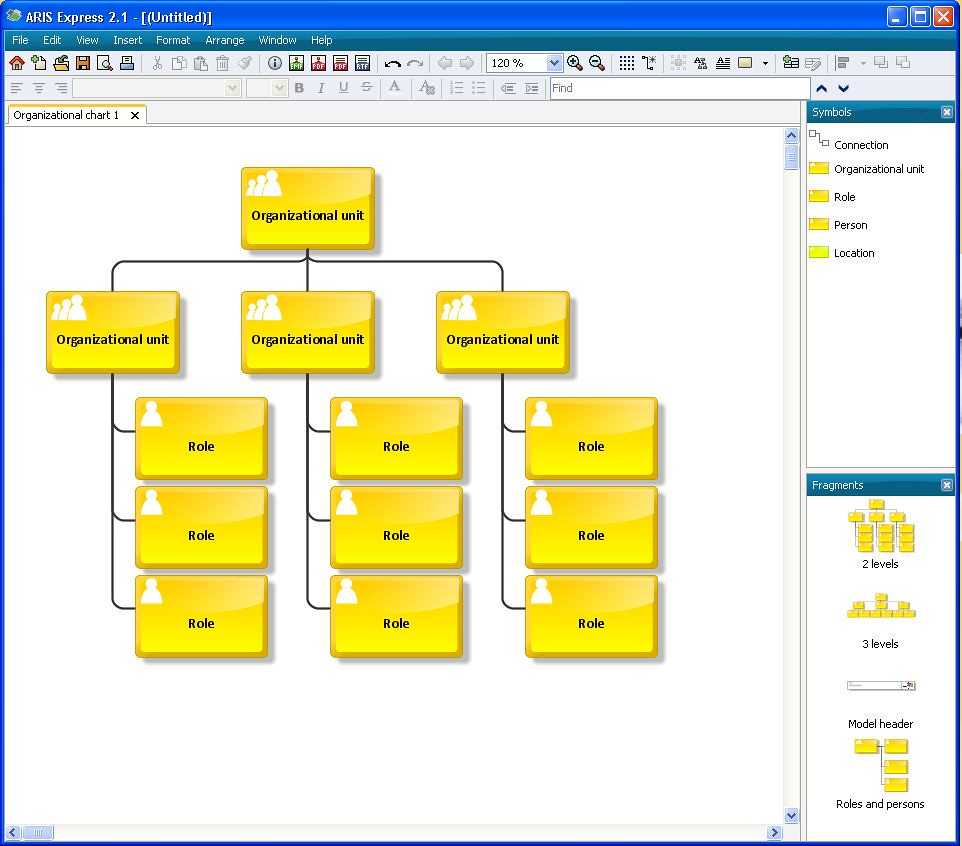 Create Organizational Chart In Word: Organisational chart in ARIS Express 2 | Organisational charu2026 | Flickr,Chart