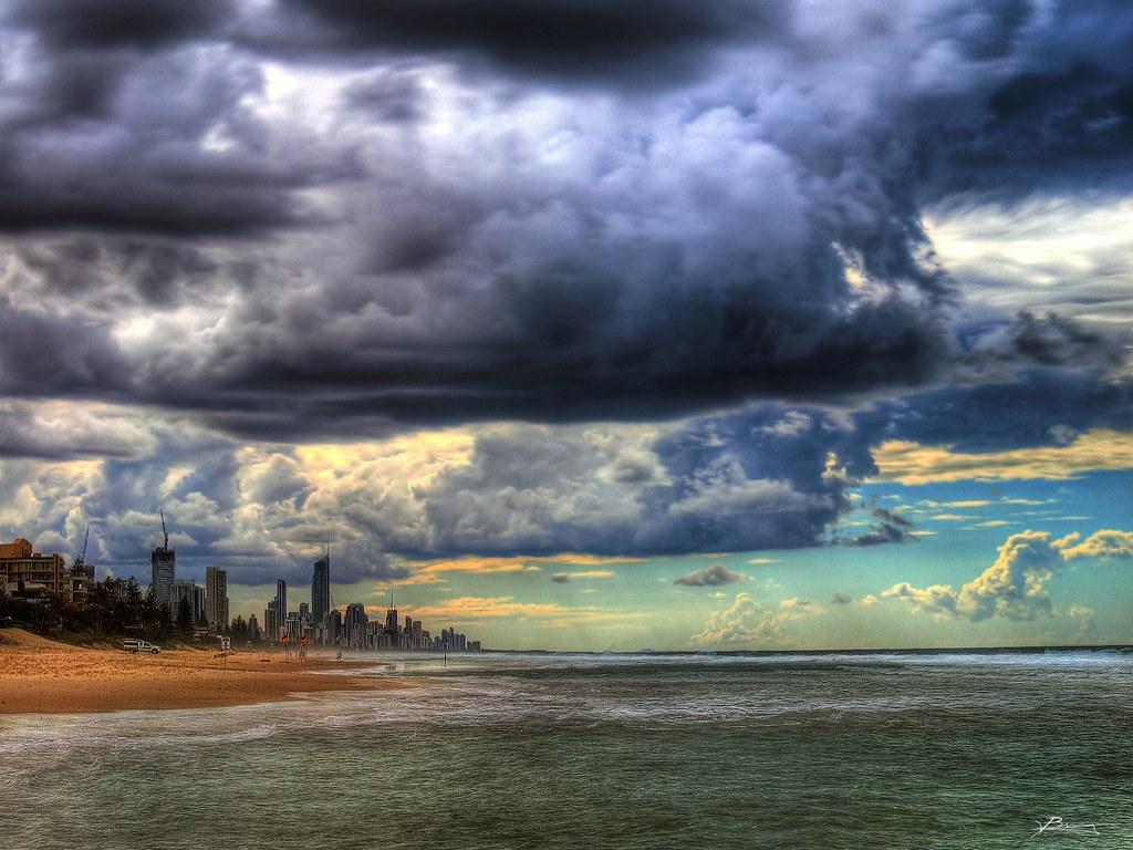 Jobs In Australia >> impending storms | menacing clouds over gold coast | paul bica | Flickr