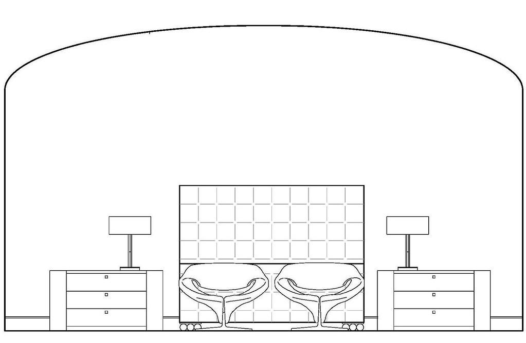 Front Elevation Master Suite : Master bedroom elevation lena goykhman flickr