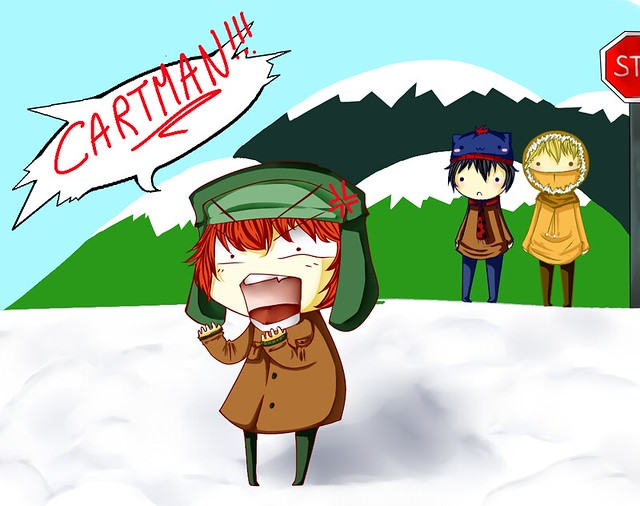 South Park Kyle Angry ...