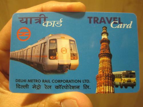 Delhi Metro Travel Card Balance Enquiry