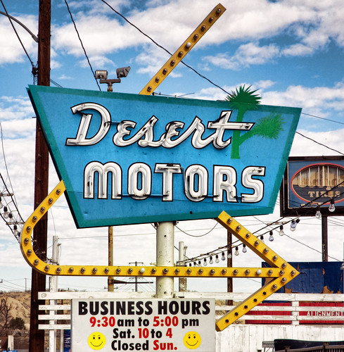 Desert Motors | by Toby Dickens