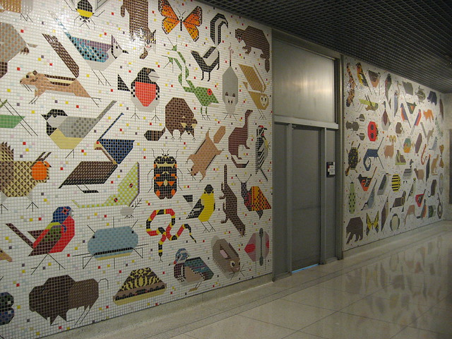 Charley harper mural flickr photo sharing for Charley harper mural