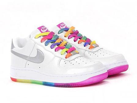 nike air force rainbow