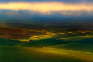 Surreal Morning In The Palouse | by kevin mcneal