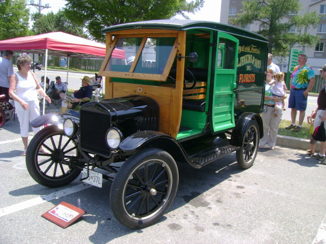 1920 Ford Model T Panel Truck Maryland Motor Vehicle