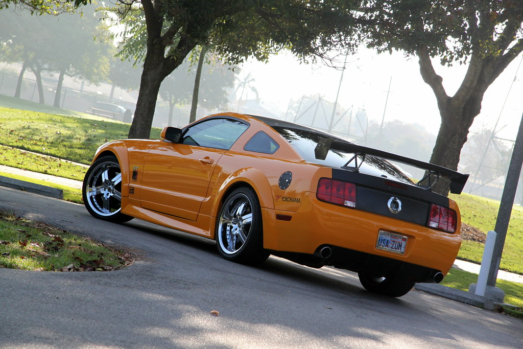 Grabber Orange Mustang Gt 2008 Mustang Gt Premium