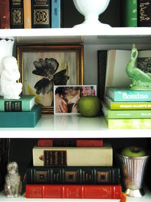 Styling A Bookcase | by It's Great To Be Home