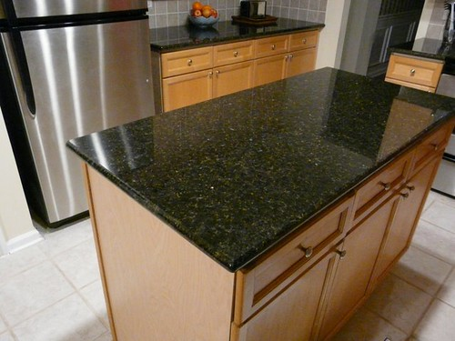 Uba Tuba Granite Countertop Installed In Charlotte Nc Flickr