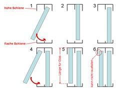 how to make sliding doors e profile f r schiebet ren. Black Bedroom Furniture Sets. Home Design Ideas
