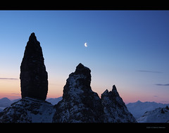 The Night Needles - Old Man Of Storr, Skye | by David Hannah