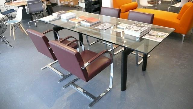 Mies van der rohe knoll brno chairs le corbusier tafel flickr - Tafel knoll ...