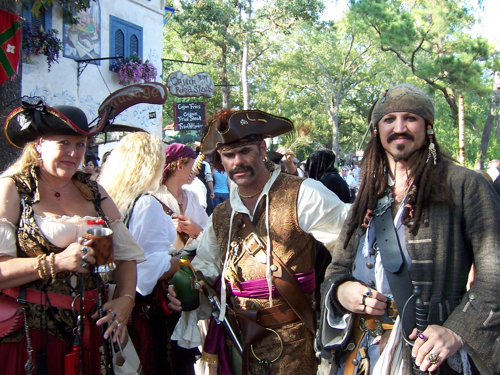 Texas Renaissance Festival  I Totally Stalked That Pirate