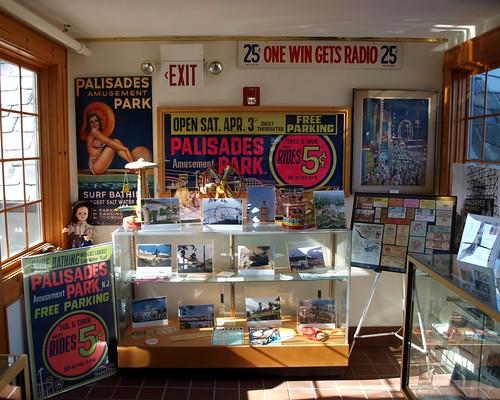 Palisades Amusement Park Memorabilia Fort Lee Museum New