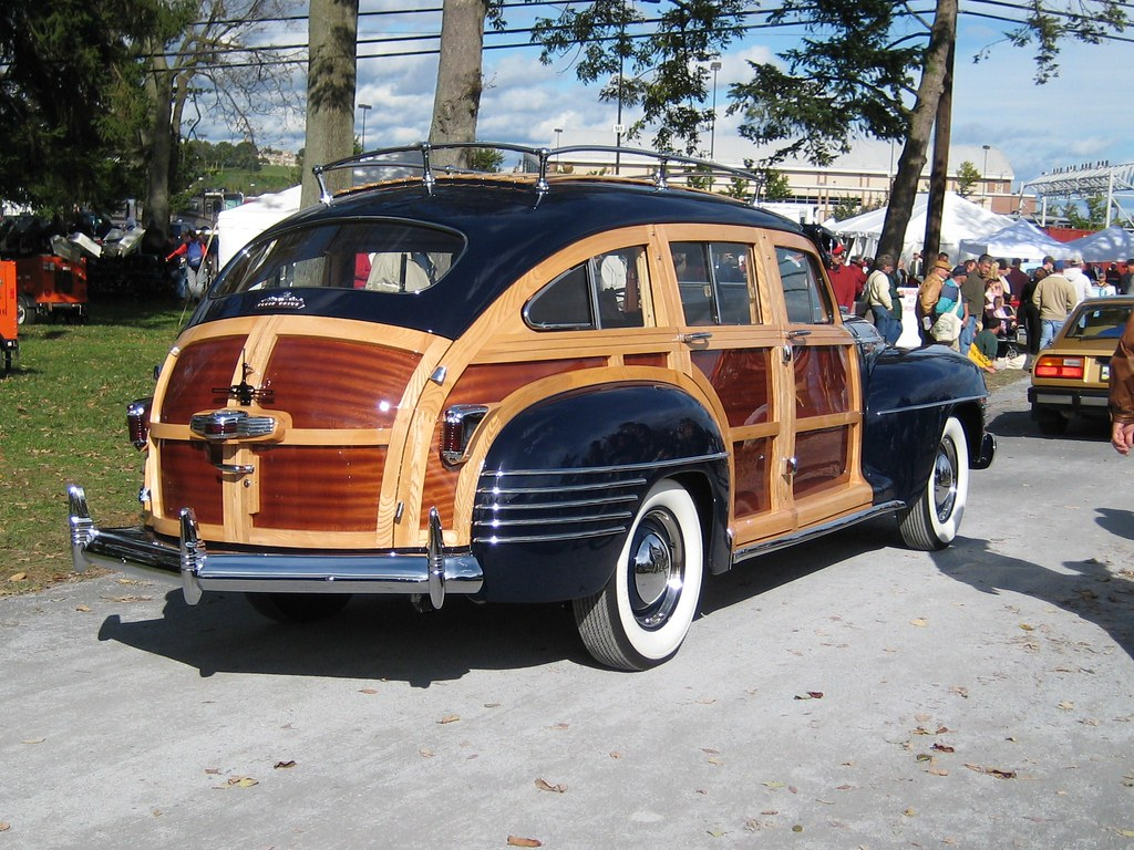 Automobile Club Of America >> 1942 Chrysler Town and Country | Seen in the car show on the… | Flickr