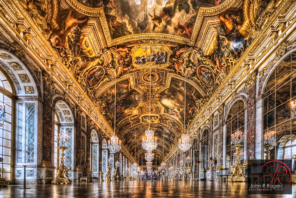 Hall Of Mirrors At The Palace Of Versailles Austin Photogr Flickr