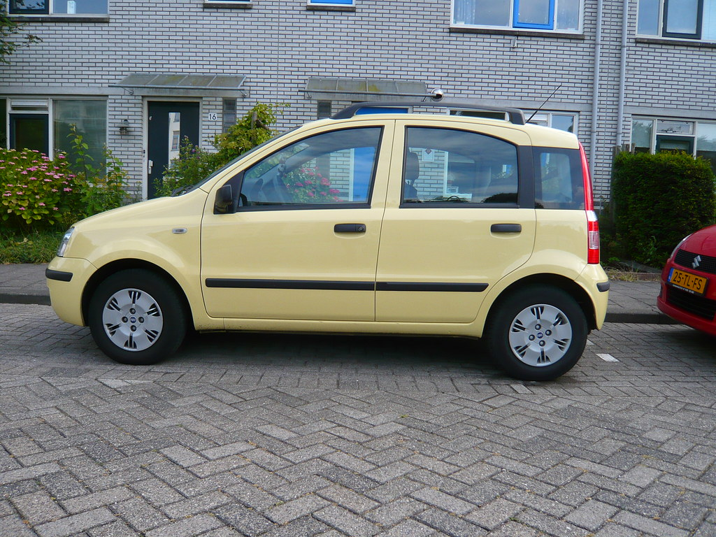 Yellow Fiat Panda Hatchback 2007 Oerendhard1 Flickr
