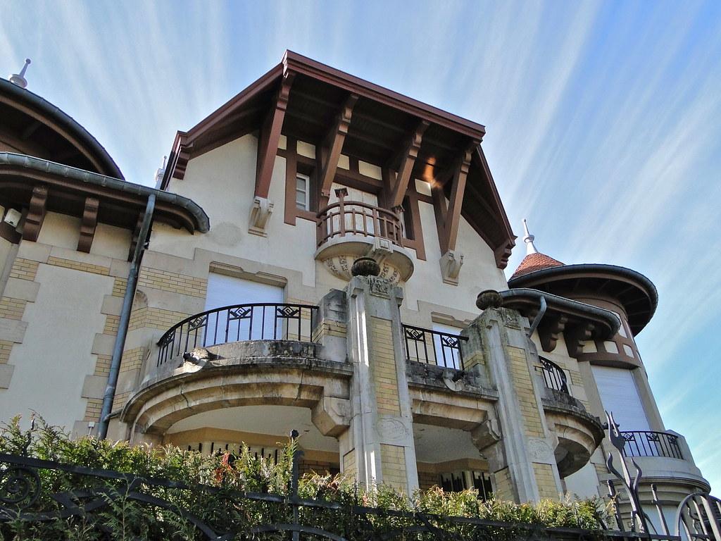 Villa les cigognes a noter que c 39 est dans cette villa que flickr - Piscine pierrelaye nancy ...