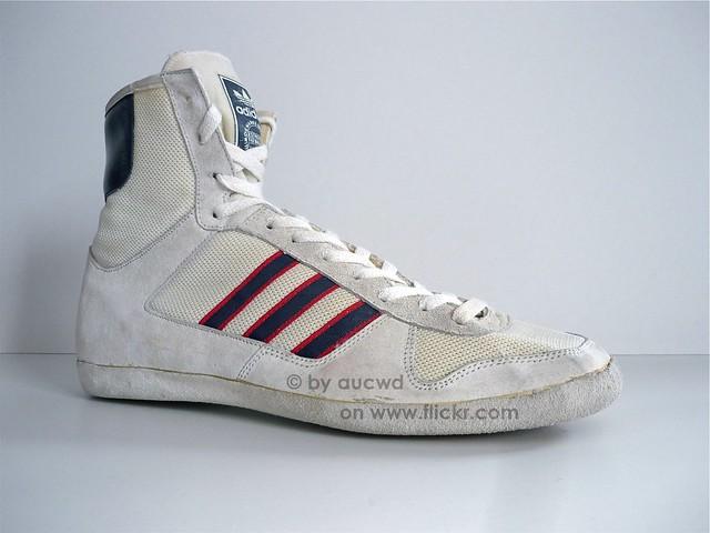 Vintage Wrestling Shoes For Sale