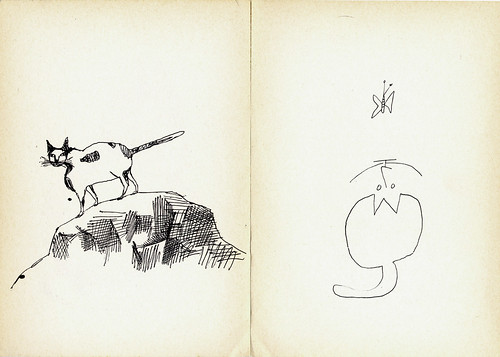 Saul Steinberg – Cats | by laura@popdesign