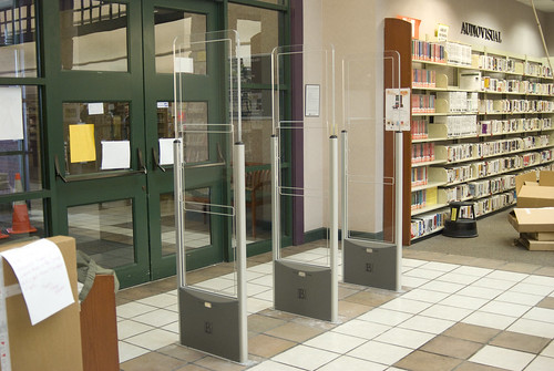 MPL's new RFID gates | by Huntsville Madison County Public Library