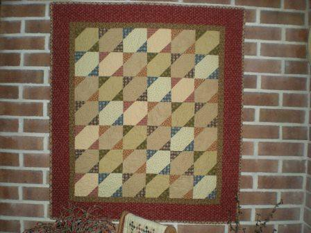 Stars with Antique Reproduction Fabric | by Erin @ Why Not Sew? Quilts
