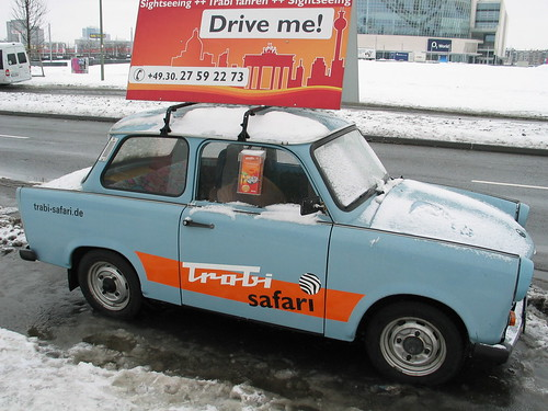 trabant taxi berlin wall february 2010 no set of. Black Bedroom Furniture Sets. Home Design Ideas