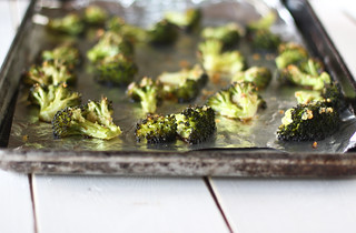 roasted broccoli | by hannah * honey & jam