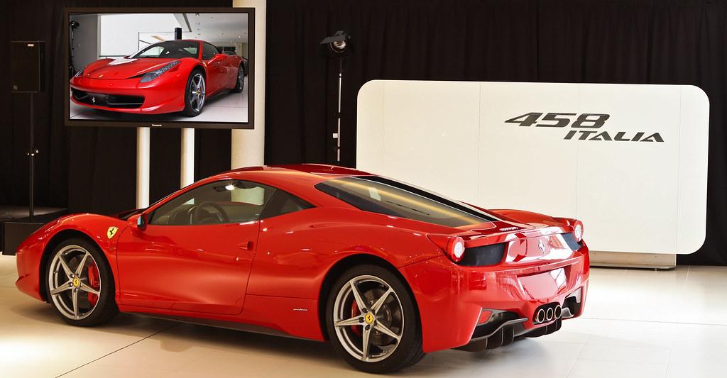 Ferrari 458 Italia Special Thanks To Zagame Ferrari