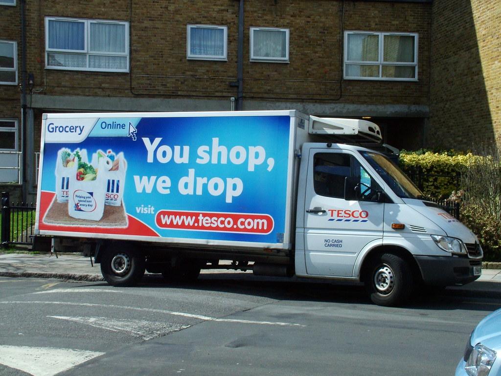 Mercedes Sprinter 2006 >> You shop, we drop | Tesco Home Delivery Service 2006 Mercede… | Flickr