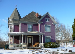 Cadiz, KY purple Victorian house | by army.arch
