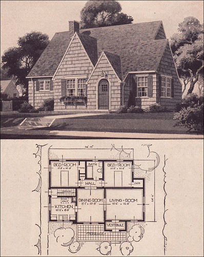English Style Cottage House Plans