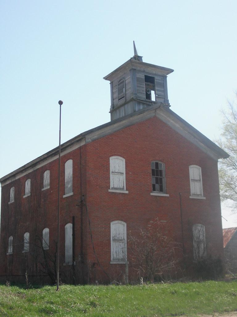 Detroit Illinois Old School Building Matt Turner Flickr