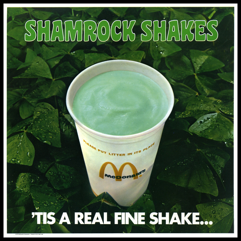 Ultimate McDonald's Shamrock Shake Guide | Gluttoner: You gonna ...