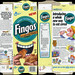General Mills - Fingos - Honey Toasted Oat - cereal snack box - 1993