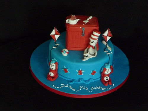 Cat In The Hat Birthday Cake Was Asked To Make A Dr