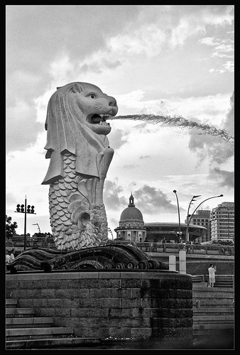 The Merlion | by ZameenZahari