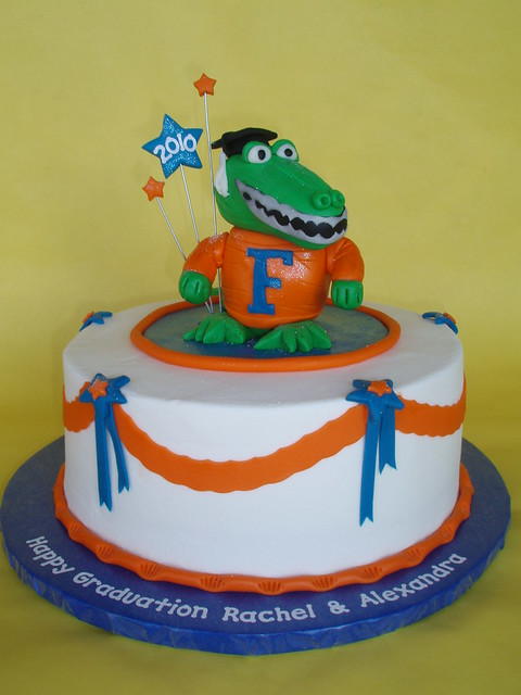 University Of Florida Bound Graduation Cake Flickr