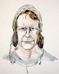 Julia Kai for Julia Kai's portrait party by Giorgio Bordin
