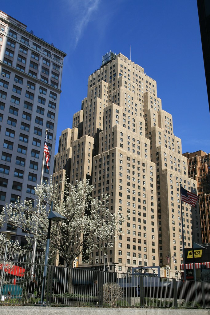 New Yorker Hotel: The 43-story New Yorker Hotel On