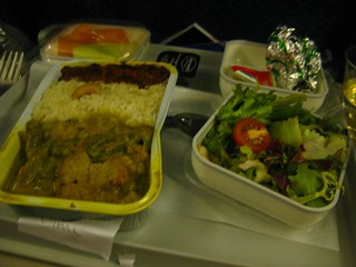 Inflight meals Malaysia Airlines KL-Frankfurt | by phonakins