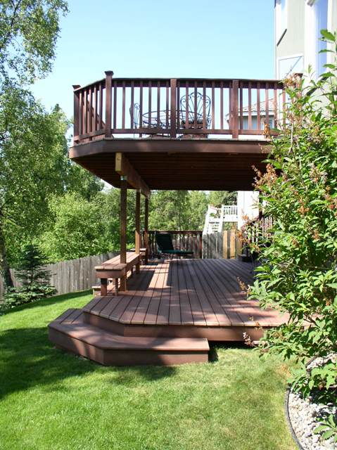 Deck Design Ideas Trex Cedar Hardwood Alaskan0114 2